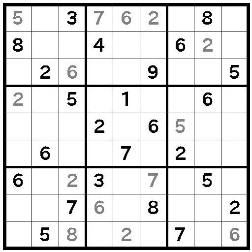 X,Wingが複数回出てくるナンプレ問題(5)X,Wingを通過すれば簡単と思ったけれど